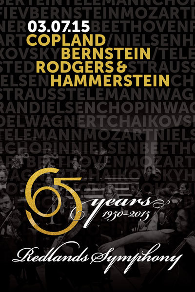 Redlands Symphony | 65 Years of Joy