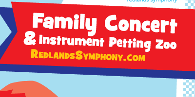 Redlands Symphony | The Toy Box: Family Concert and Instrument Petting Zoo
