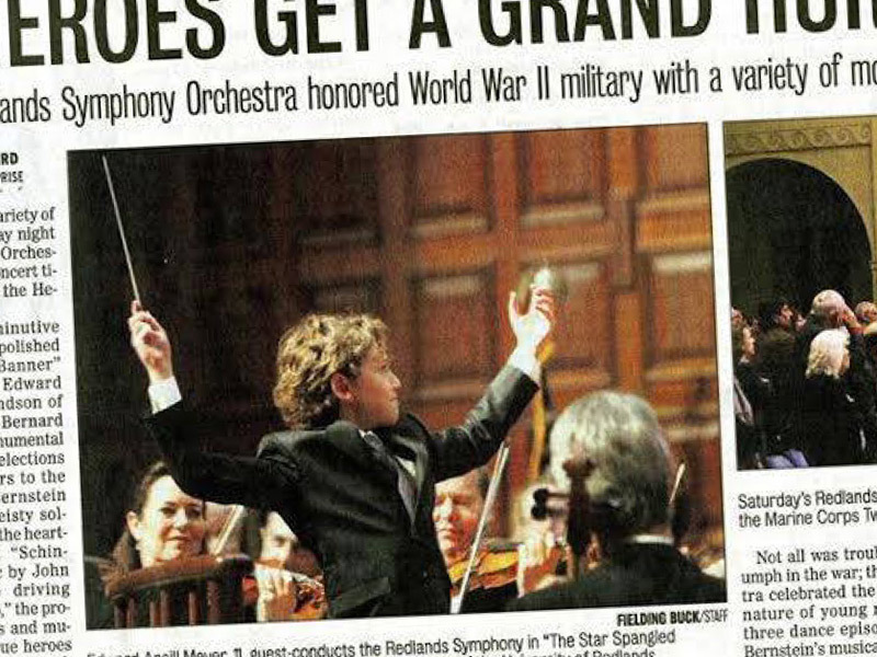 Redlands Symphony | Guest Conduct the Redlands Symphony