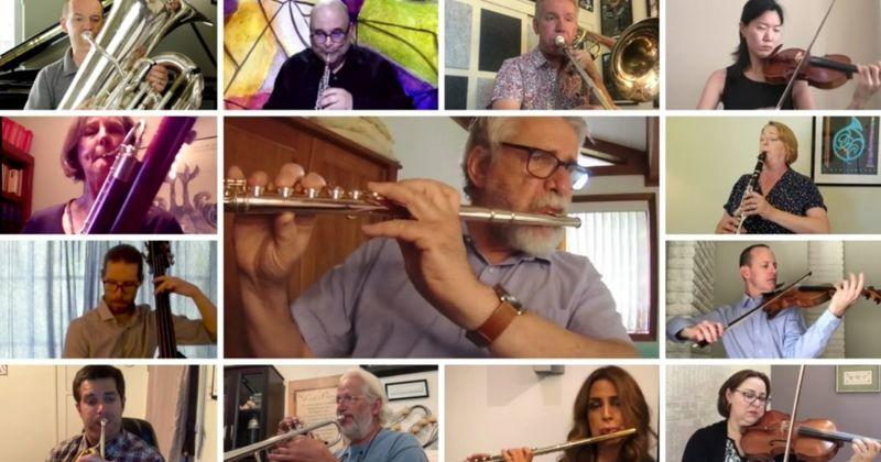 Enjoy a Virtual Performance of Pachelbel's Canon in D