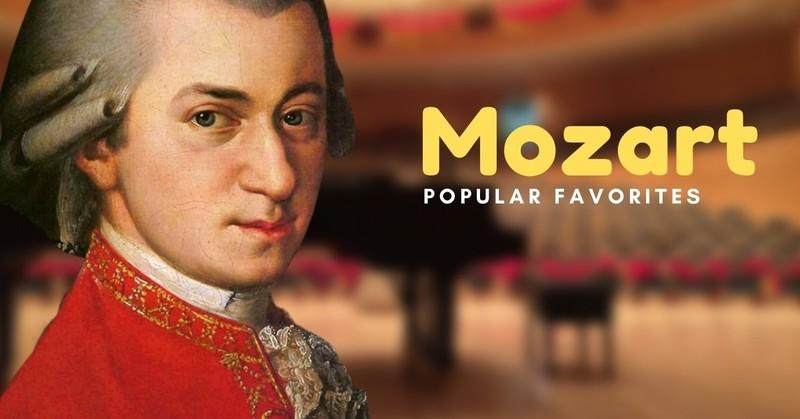 Our Favorite Pieces by Mozart